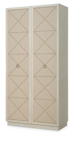 Thumbnail of Century Furniture - Corso Tall Cabinet w/ Upholstered Doors