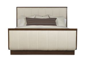 Thumbnail of Century Furniture - Vienna Bed with Channel Upholstered Headboard