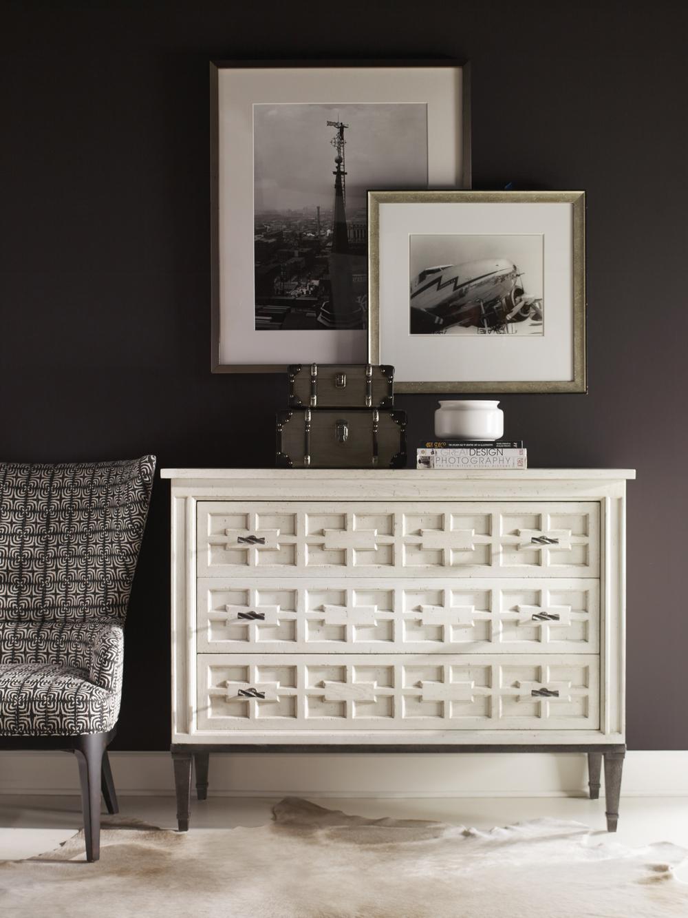 Century Furniture - Casa Bella Burl Drawer Chest