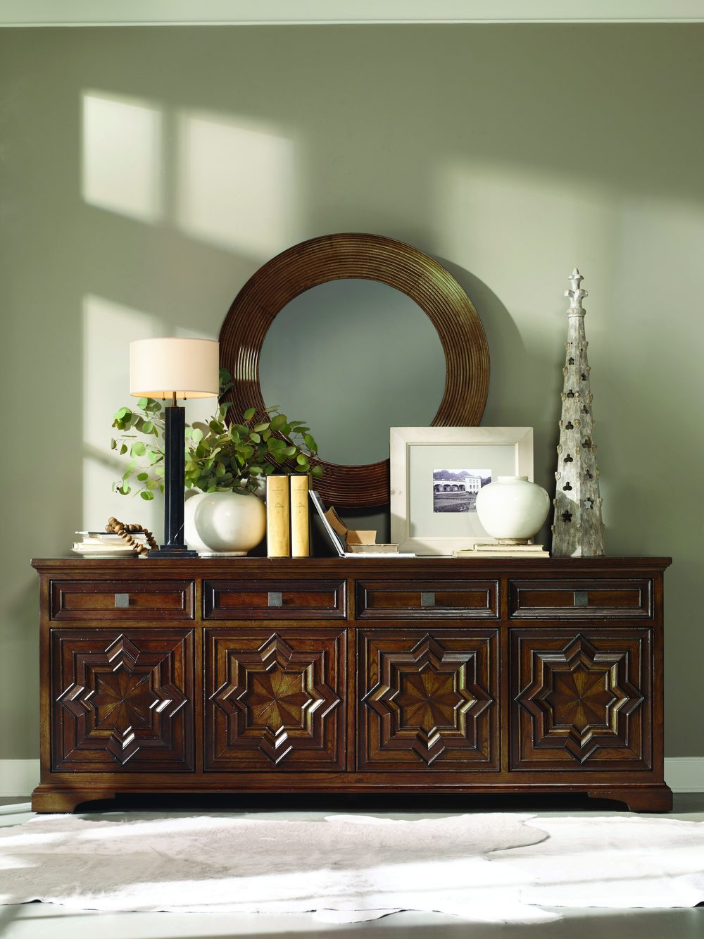 Century Furniture - Casa Bella Carved Credenza