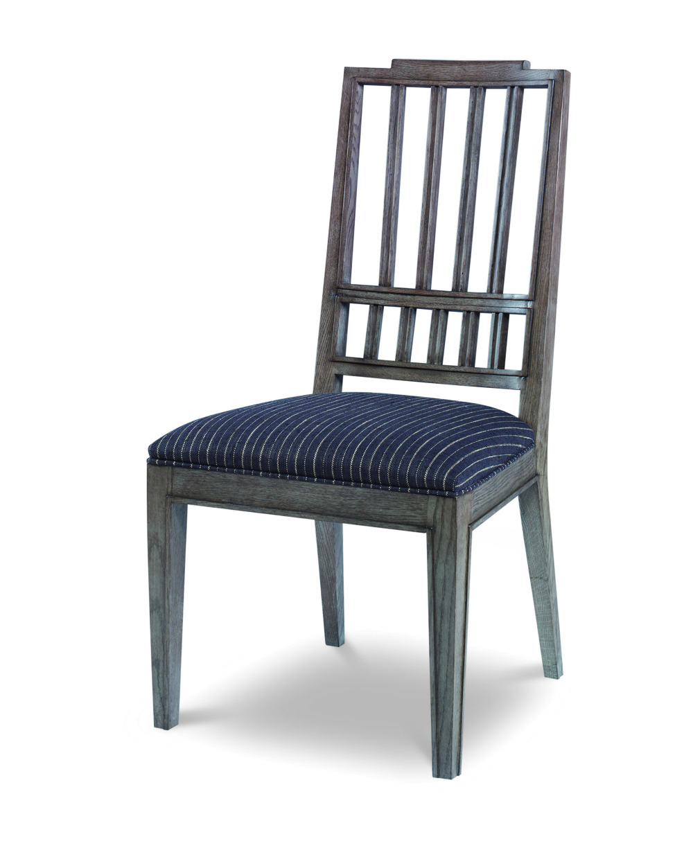 CENTURY FURNITURE - Casa Bella Slat Back Dining Side Chair