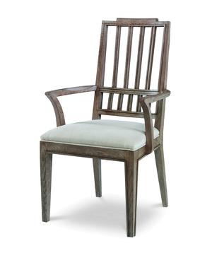 Thumbnail of Century Furniture - Casa Bella Slat Back Dining Arm Chair
