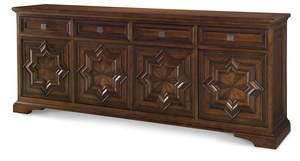 Thumbnail of Century Furniture - Casa Bella Carved Credenza, Sierra