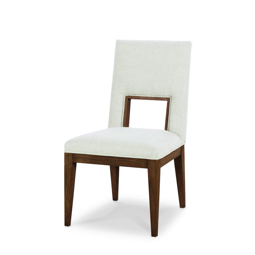 Century Furniture - Casa Bella Upholstered Dining Side Chair, Sierra