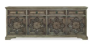 Thumbnail of Century Furniture - Casa Bella Carved Credenza, Timber Gray