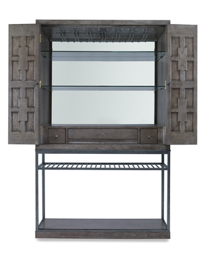 Thumbnail of Century Furniture - Casa Bella Burl Bar Cabinet, Timber Gray