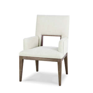 Thumbnail of Century Furniture - Casa Bella Upholstered Dining Arm Chair, Timber Gray