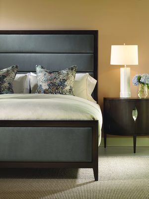 Thumbnail of Century Furniture - Aria Bed with Upholstered Headboard and Footboard