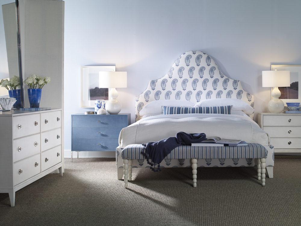 Century Furniture - Lafayette Fully Upholstered Bed