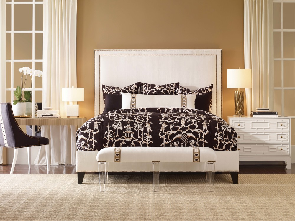 Century Furniture - Marin Fully Upholstered Bed