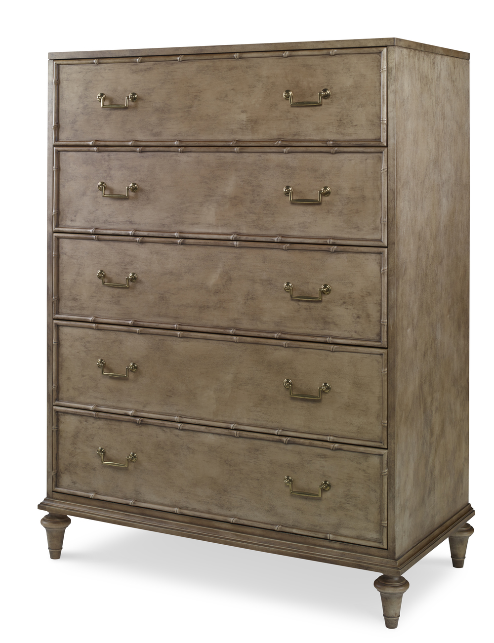 Century Furniture - Five Drawer Low Chest