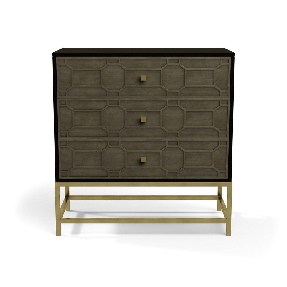 Century Furniture - Three Drawer Tall Chest