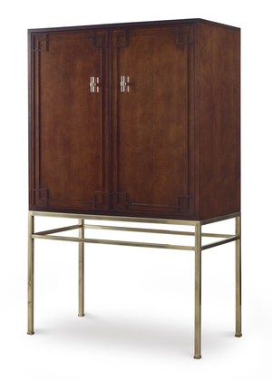 Thumbnail of Century Furniture - Bar Cabinet w/ Wood Back Panel