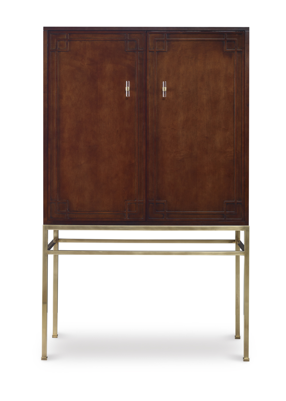 Century Furniture - Bar Cabinet w/ Wood Back Panel
