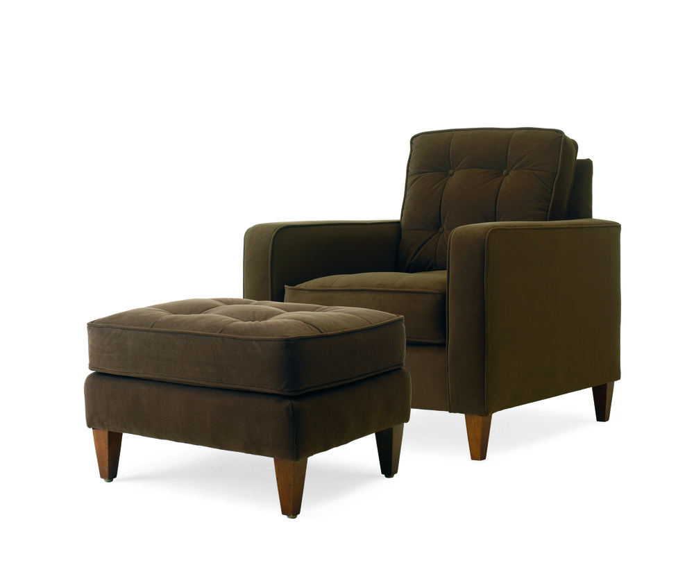 CENTURY FURNITURE - Marc Chair and Ottoman