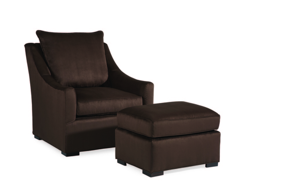 Century Furniture - Willem Chair and Ottoman