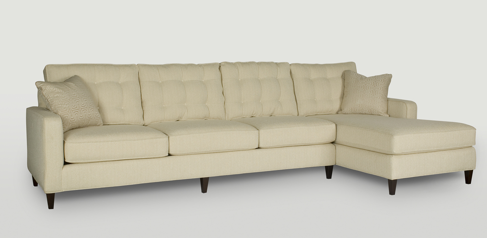 Century Furniture - Jake Sectional with Chaise