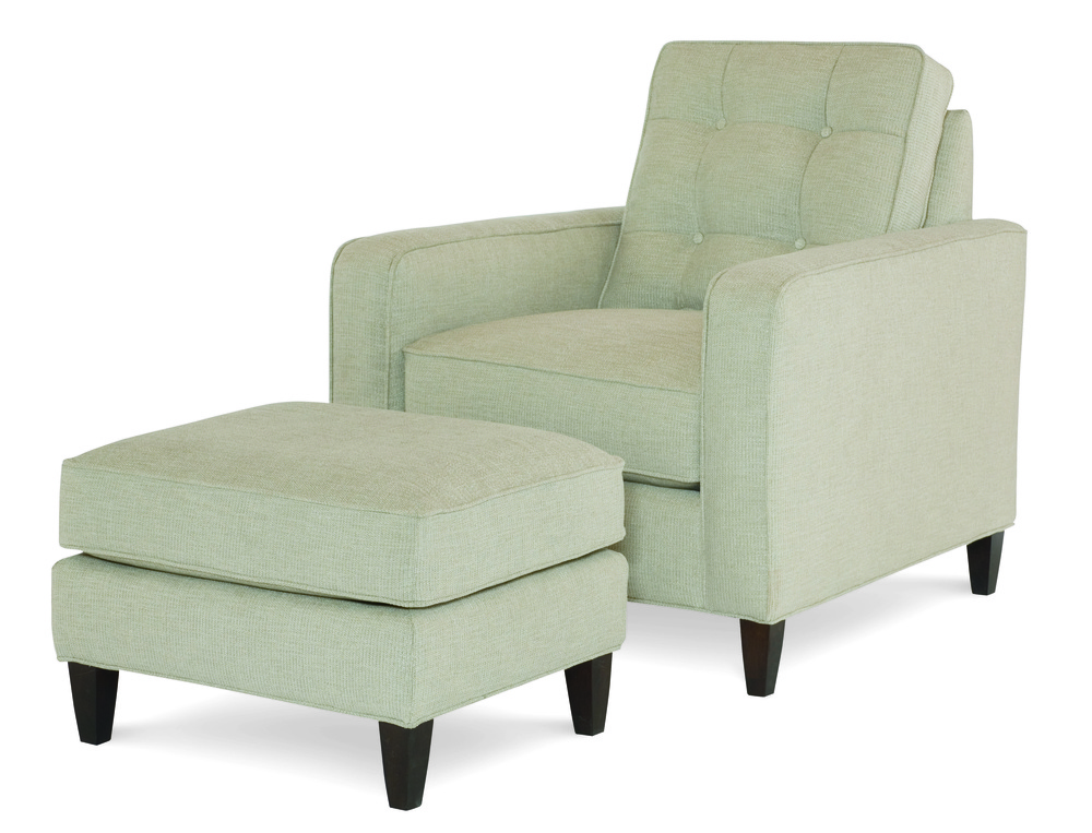 Century Furniture - Jake Chair and Ottoman