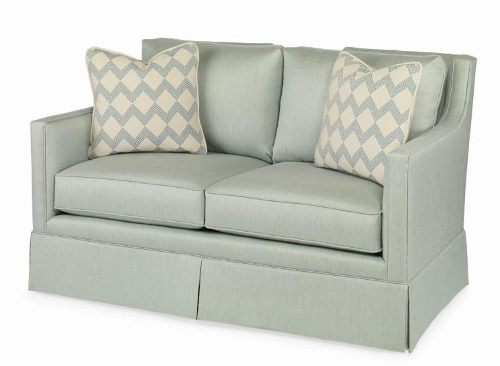 Century Furniture - Del Mar Skirted Loveseat