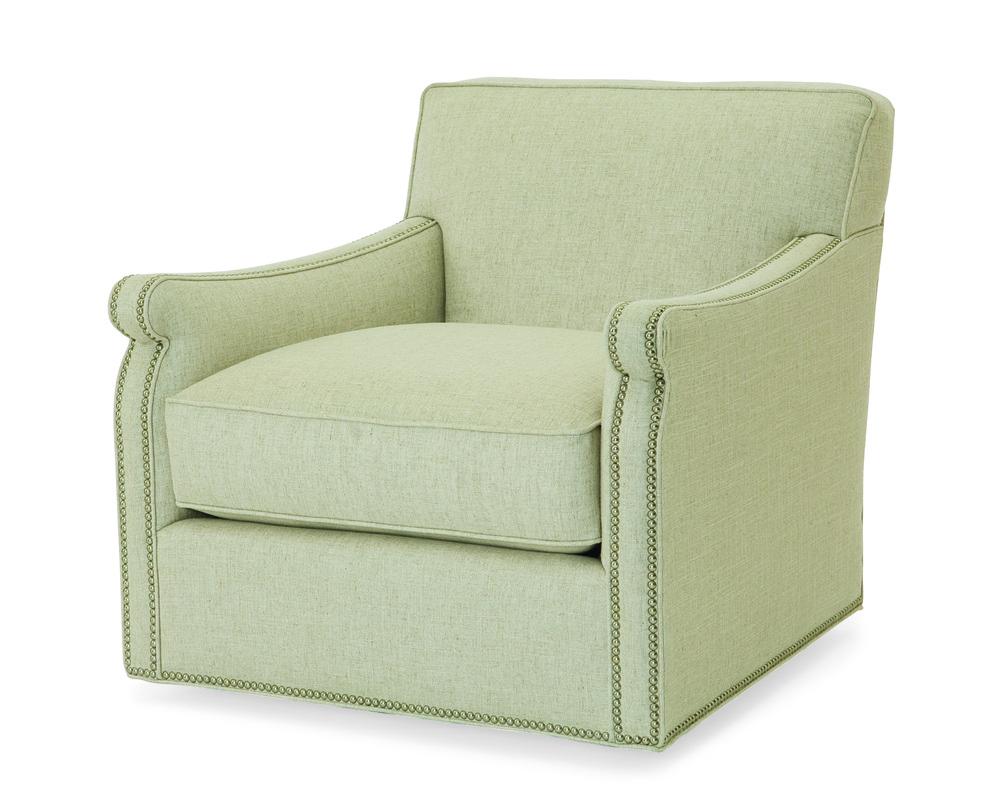 Century Furniture - Fiske Swivel Chair