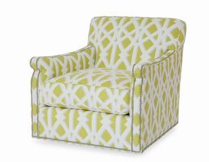 Thumbnail of Century Furniture - Fiske Swivel Chair
