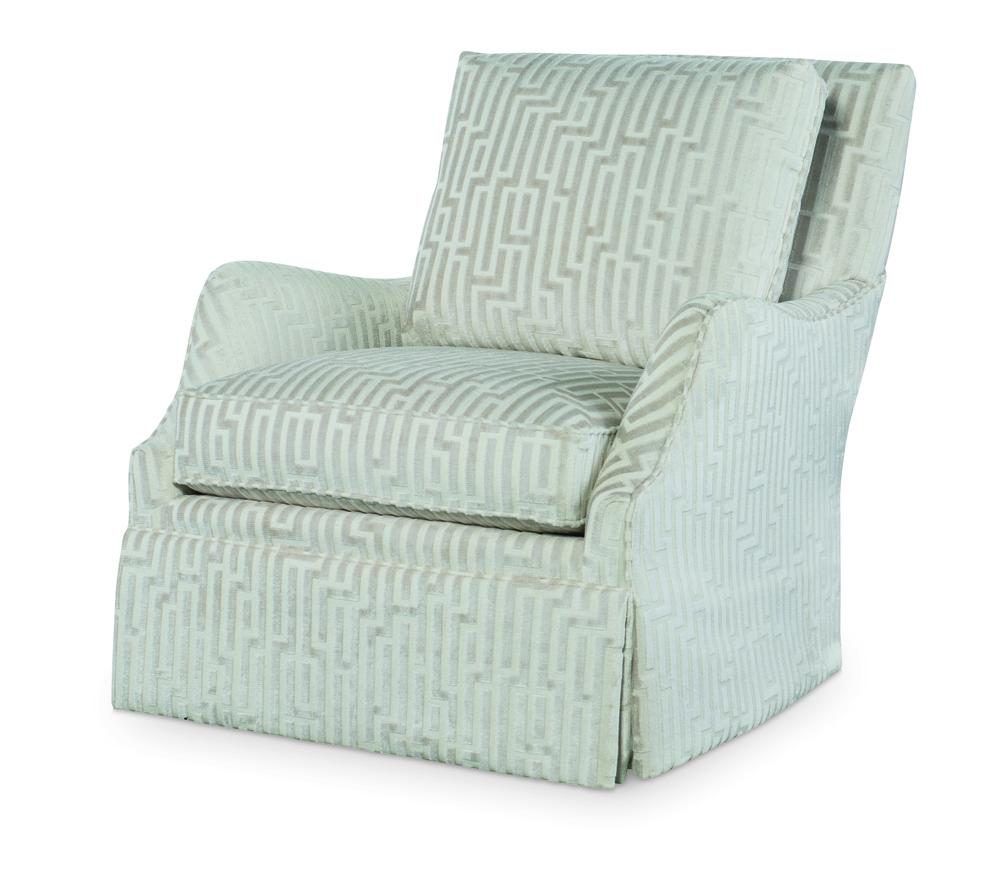 Century Furniture - Cassidy Skirted Swivel Chair
