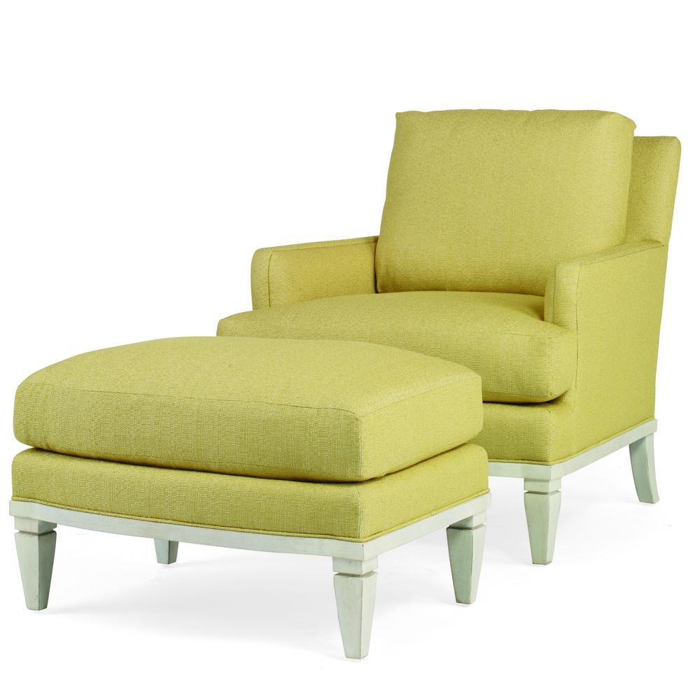Century Furniture - Thurston Chair and Ottoman
