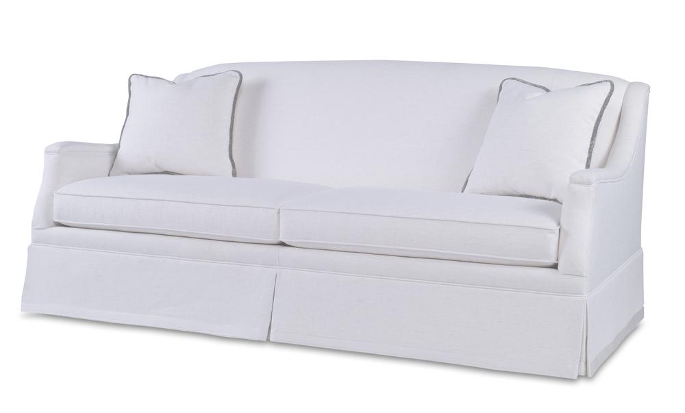 Century Furniture - Langley Skirted Sofa