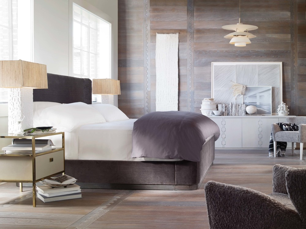 Century Furniture - Yvette Upholstered Bed