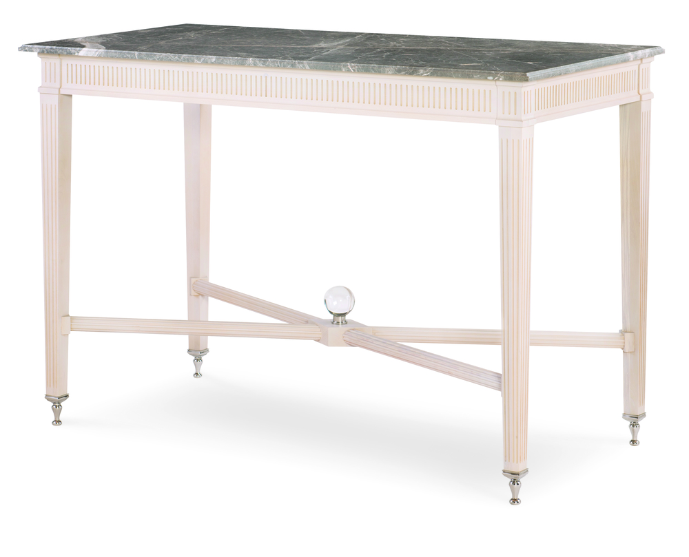 Century Furniture - Northern Lights Console with Marble Top