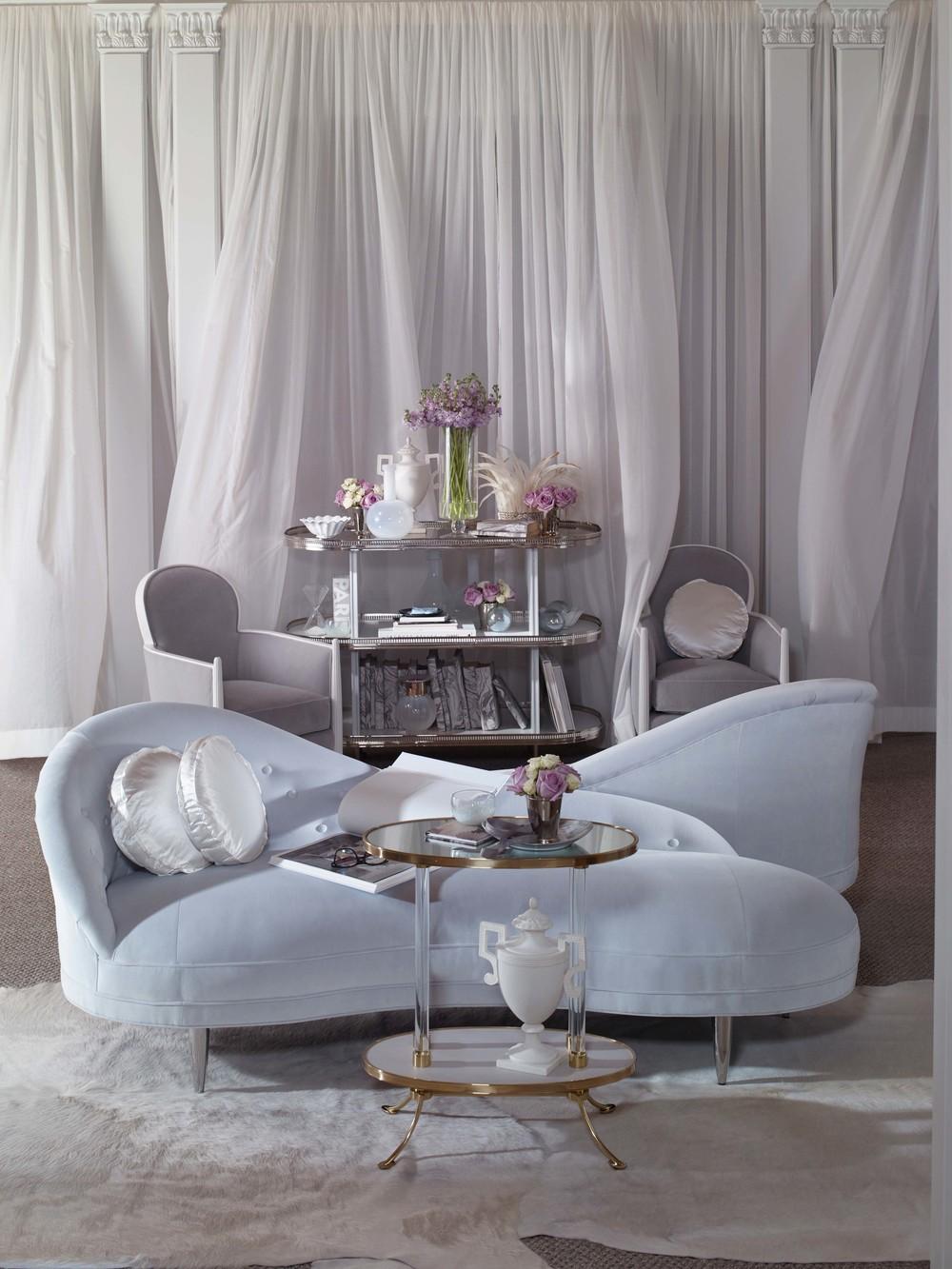 Century Furniture - Mist Bar Cart
