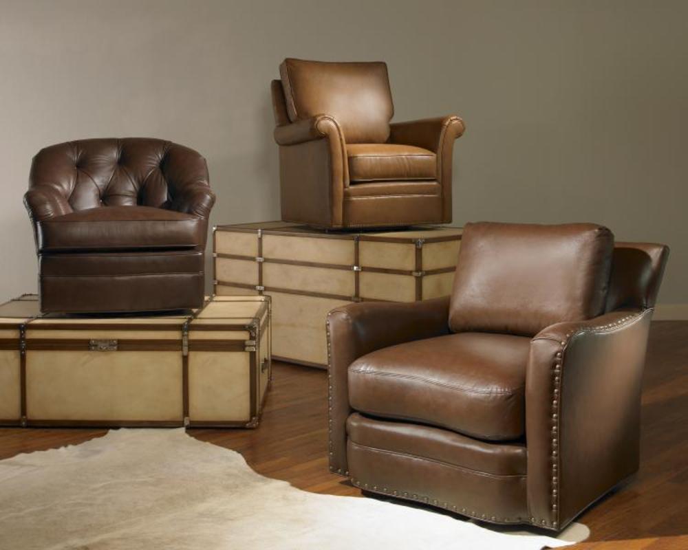 Century Furniture - Buffalo Swivel Chair