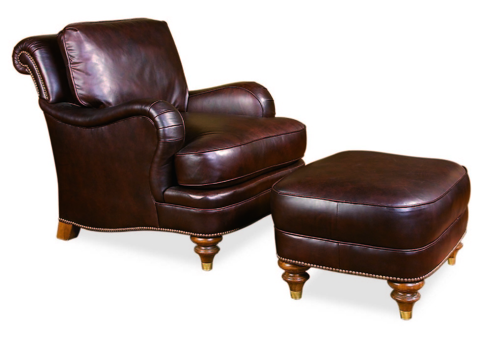 Century Furniture - London Chair and Ottoman