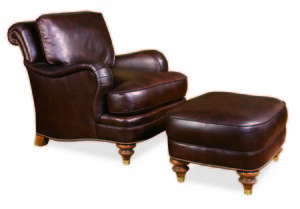 Thumbnail of Century Furniture - London Chair and Ottoman