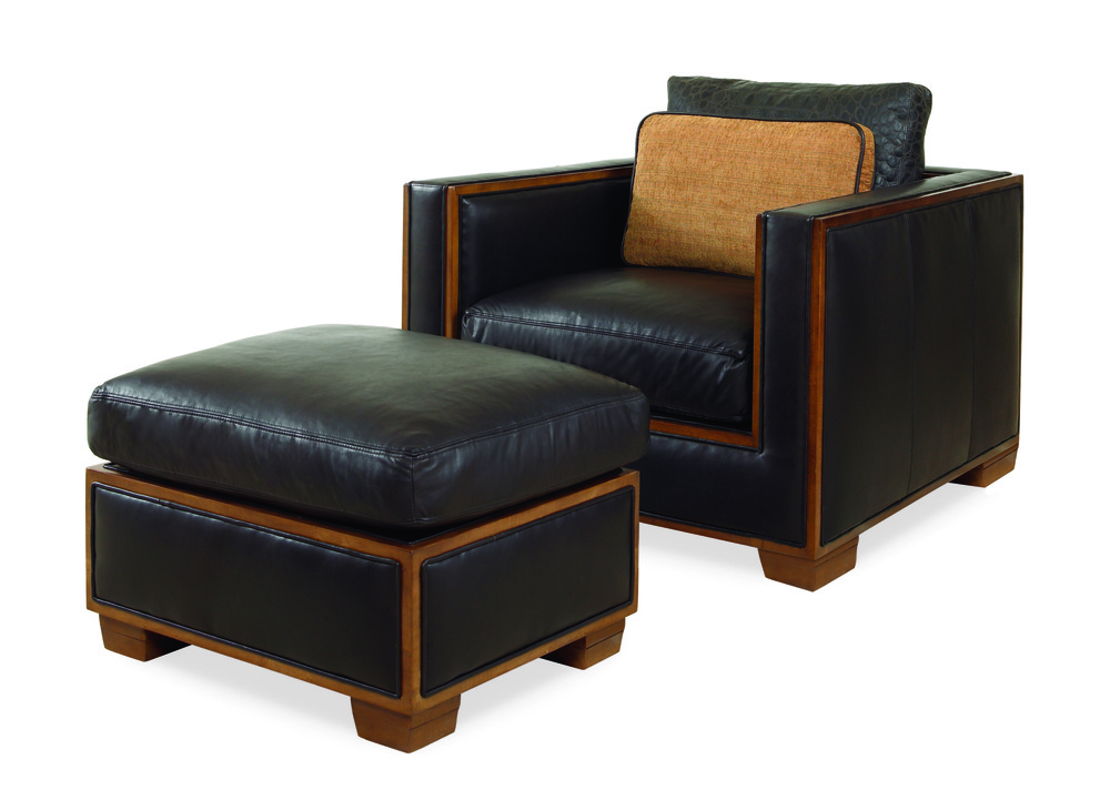 Century Furniture - Bolton Chair and Ottoman