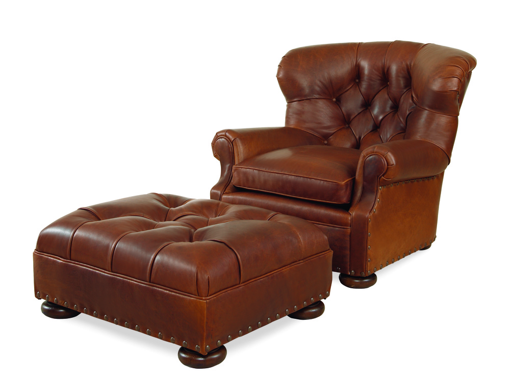 Century Furniture - Whitman Chair and Ottoman