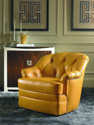 Thumbnail of Century Furniture - Horseshoe Swivel Chair