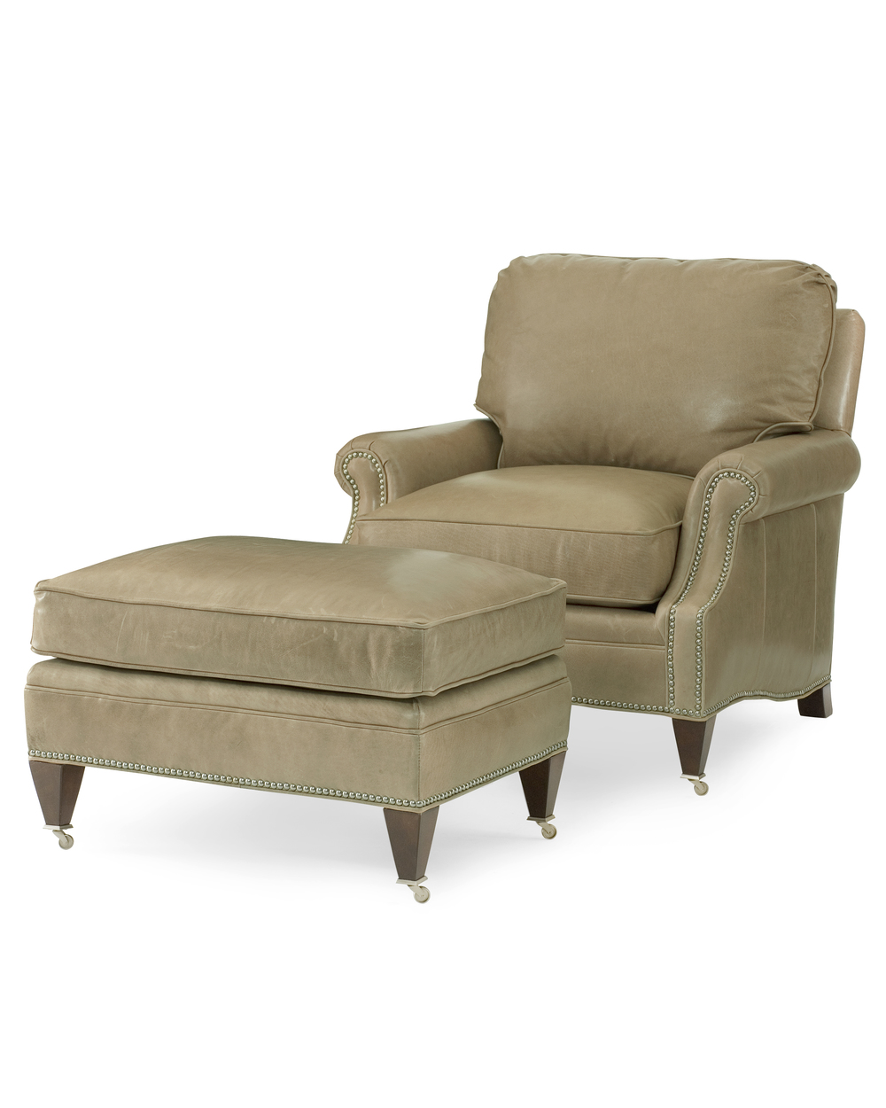 Century Furniture - Essex Chair and Ottoman