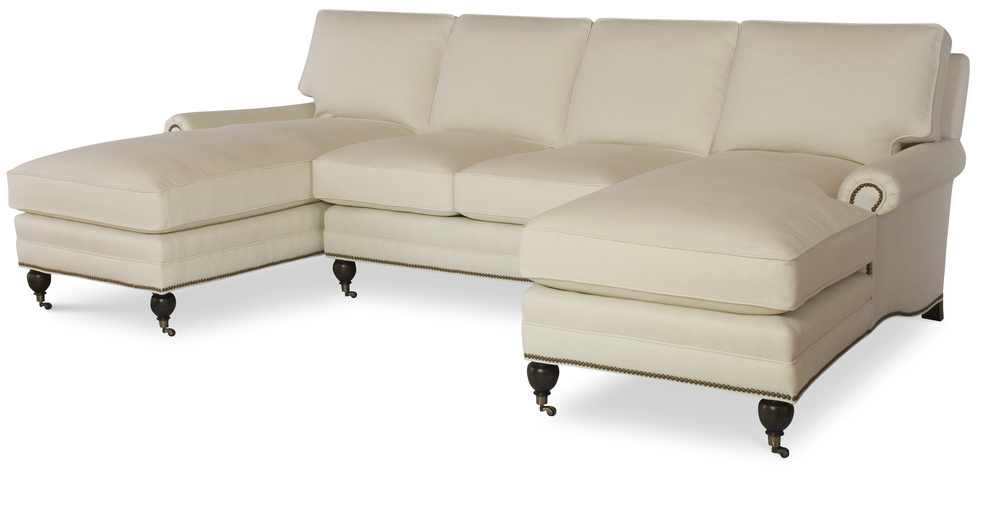 Century Furniture - Essex Sectional with Chaises