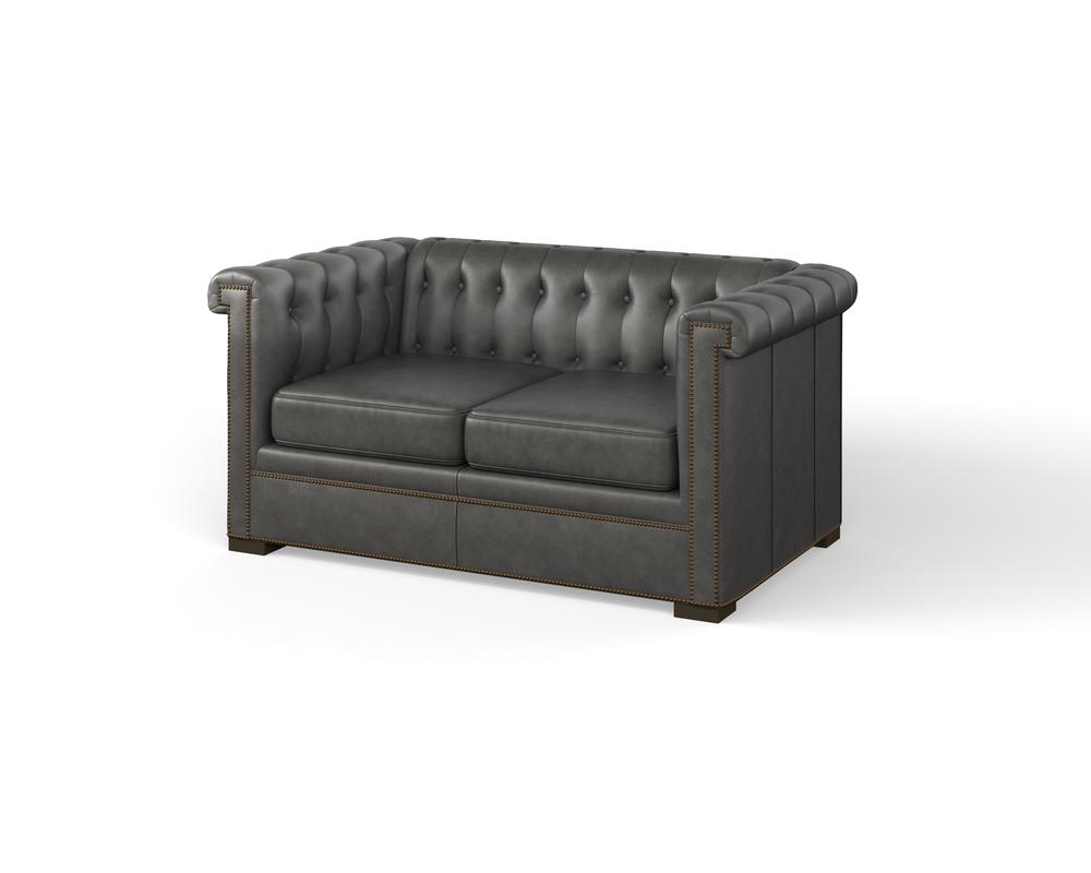 Century Furniture - Modern Chesterfield Loveseat