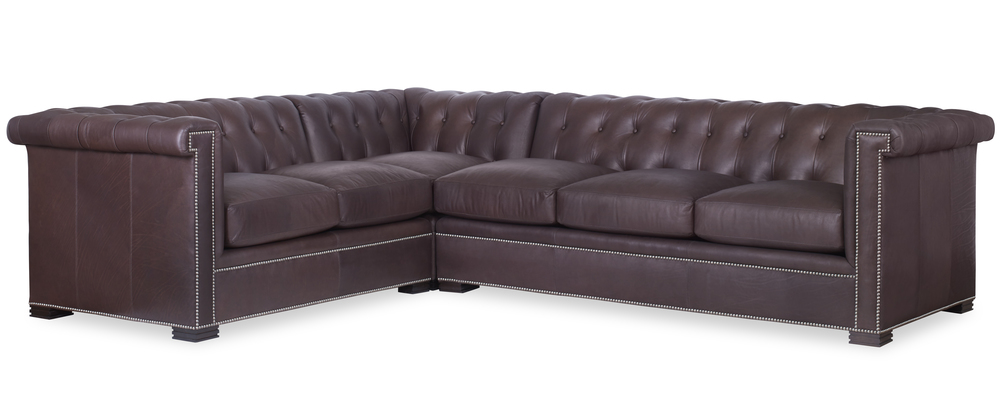 Century Furniture - Modern Chesterfield Sectional