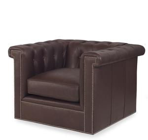 Thumbnail of Century Furniture - Modern Chesterfield Swivel Chair