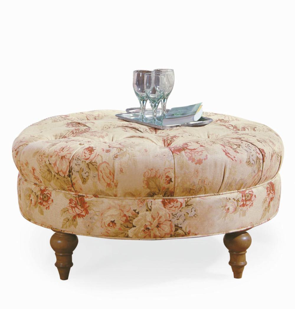 Century Furniture - Sara Round Ottoman