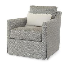 Thumbnail of Century Furniture - Allison Skirted Swivel Chair