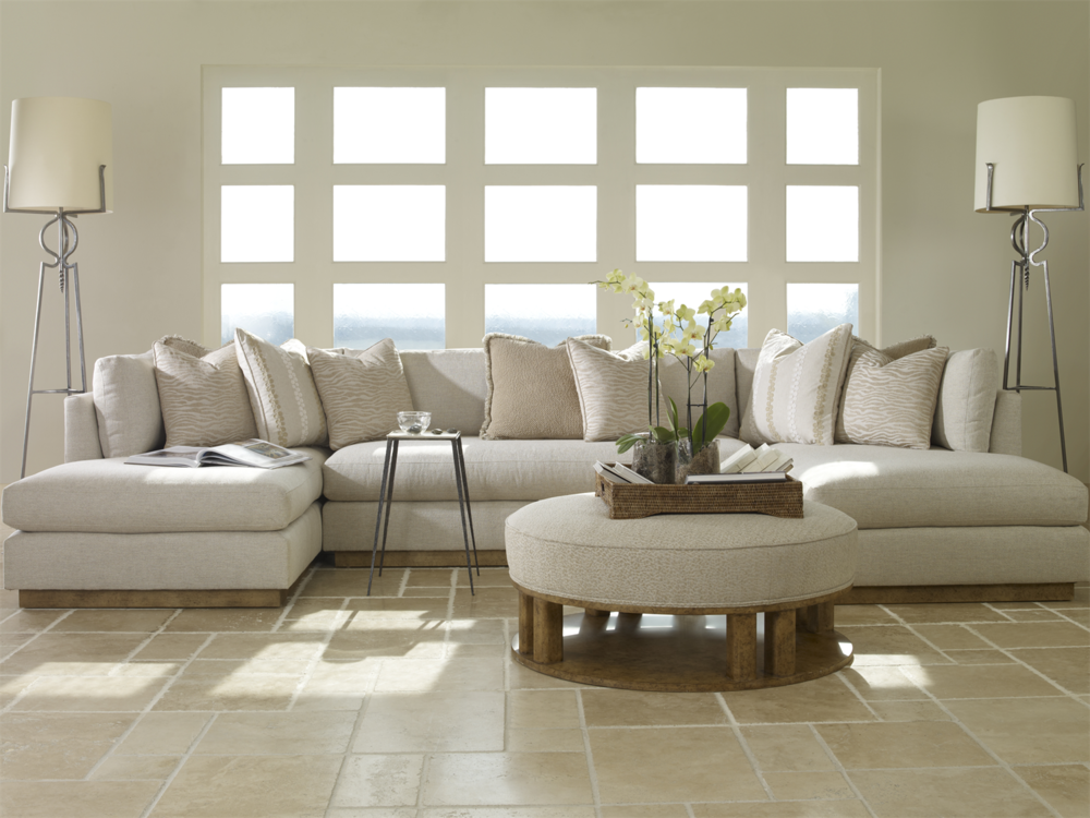 Century Furniture - Carrier 2 Chaise Sectional