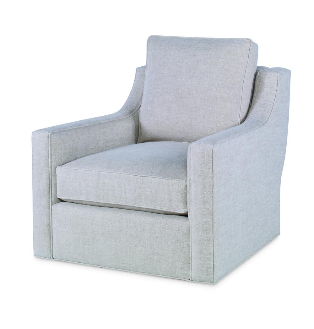 Century Furniture - Roma Armless Sofa, Full Back