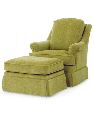 Thumbnail of Century Furniture - Tyler Swivel Chair and Ottoman