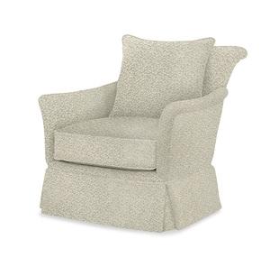 Thumbnail of Century Furniture - Pratt Skirted Swivel Chair