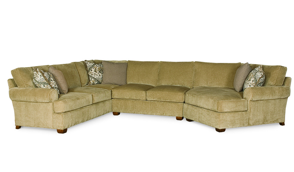 Century Furniture - Cornerstone Sectional with Pod Chaise