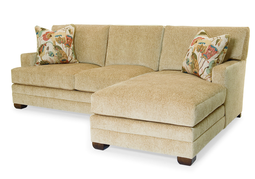 Century Furniture - Cornerstone Sectional with Chaise